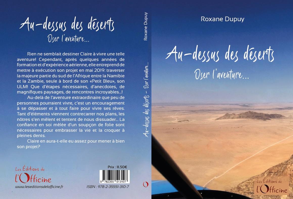 Au-dessus des déserts… Oser l'aventure