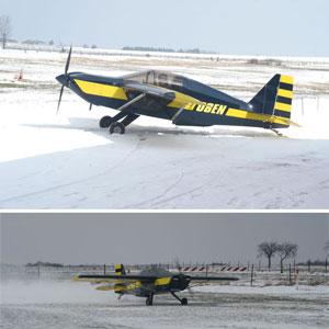 Rans S10 en neige 2005